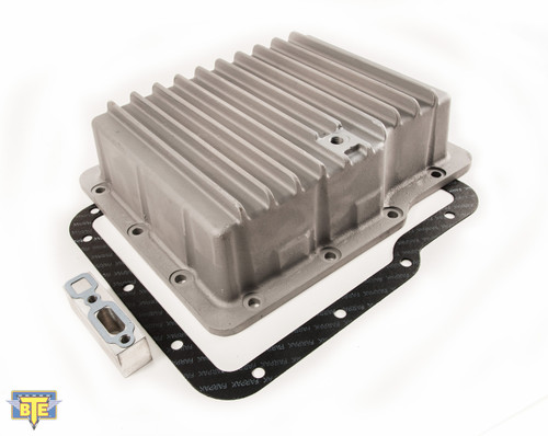 BTE Racing Powerglide Transnission Aluminum Deep Pan Silver BTE258200 with FREE SHIPPING