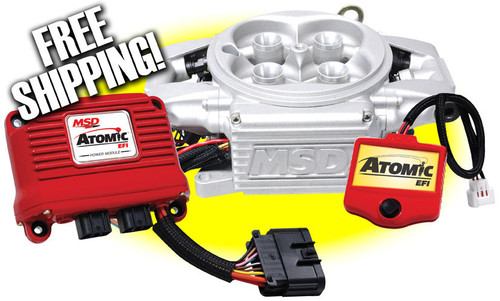 MSD Ignition Atomic EFI Throttle Body Systems 2910