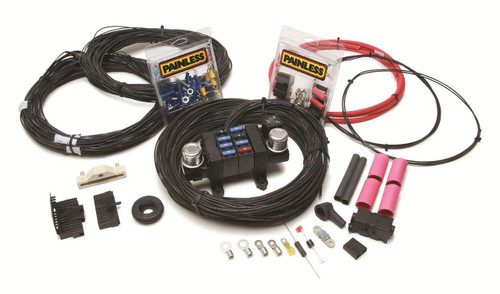 Painless Performance 17-Circuit Nostalgia Chassis Harnesses 10309