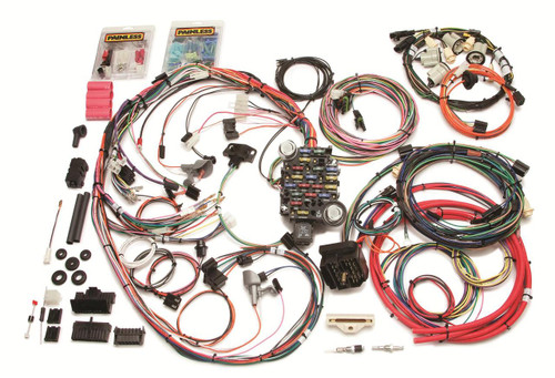 Painless Performance 26-Circuit 1974-77 Direct Fit Camaro Harnesses 20113