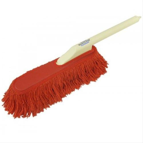 Car Duster, 26 in. Plastic Handle, 15 in. Cotton Fiber Head, Includes Storage Bag, Each 62443