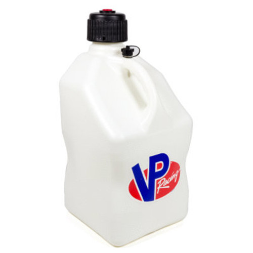 VP Racing Fuels Inc Motorsports 5 Gallon White Square Utility Jug 3522