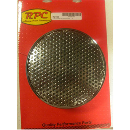 """RPC Racing Power Company CHROME AIR CLEANER VELOCITY STACK 5 1/8"""" NECK R2104"""
