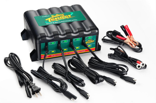 Deltran Four Bank Battery Chargers 0220148DLWH 022-0148DLWH 022-0148-DL-WH