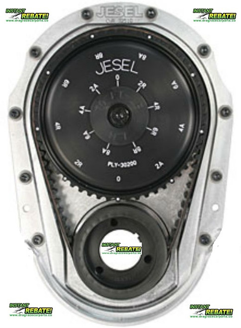 Jesel Solid Upper Pulley Belt Drive System SBC SB CHEVY V8 4.3 V6 KBD-38100 with FREE SHIPPING  and INSTANT REBATE SAVINGS