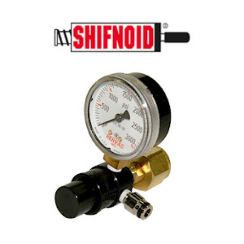 SHIFNOID CO2 Regulator 85 lb. Fixed Press with Gauge PC2004