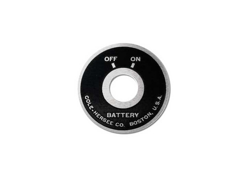 Big End Performance Faceplate On-Off Switch Face Plate BEP50036
