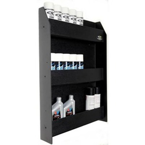 Clear One Racing Trailer Accessories Storage Cabinet Three Tier Shelf TC137 (PRODUCT NOT INCLUDED - CABINET/SHELF ONLY)