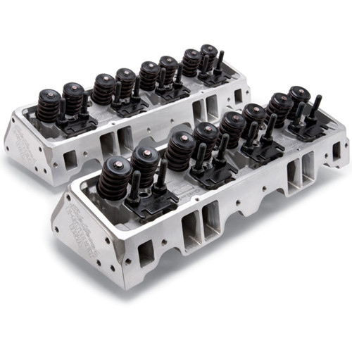 Edelbrock E Street Cylinder Heads SBC Chevy 1 pair 5089 FREE SHIPPING