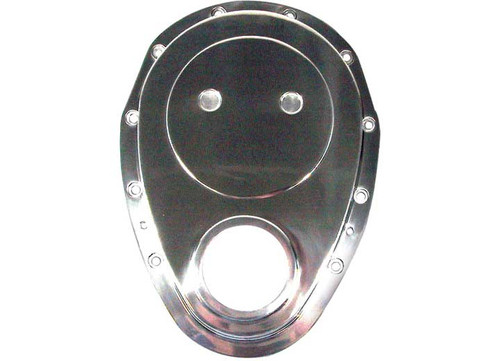 Big End Performance Aluminum Timing Chain Cover SBC BEP70082 (Small Block Chevy)
