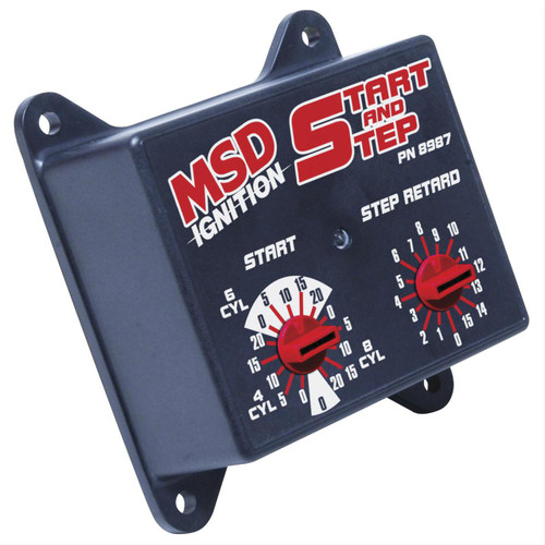 MSD Ignition Start and Step Timing Controls 8987