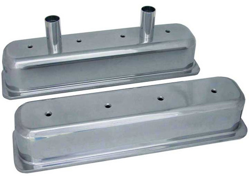"SBC Small Block Chevy Oval Track 87 - 97 Chevrolet Center Bolt V/C 3 11/16"" Tall Valve Covers"