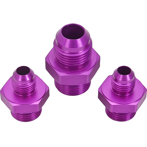 Fittings, Plumbing Kit for MP-9833 Regulator, One -10 AN Inlet, Two -6AN Outlets, Kit MP-3608