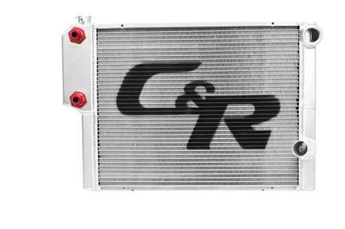 C&R Racing Heat Exchanger Radiators 805-28191