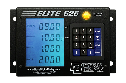 Digital Delay Elite 625 Delay Box with Built In Dial In Controller 1111-BB BLUE DISPLAY