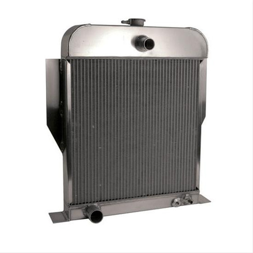 AFCO Racing Bolt-In Direct Fit Aluminum Radiators 81164-S-NA-N