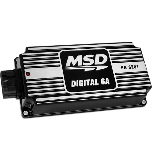MSD Digital 6A BLACK Ignition Box Controller Kit with Mounting Plate 62013K
