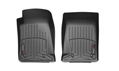 WeatherTech Digital Fit Black Floor Liners 2010-2015 Chevy Camaro 442671 FREE SHIPPING (FRONT)
