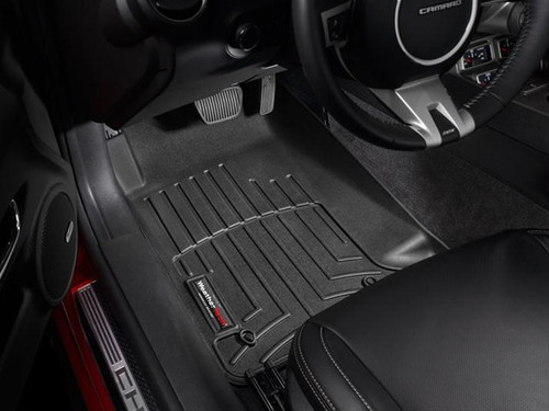 WeatherTech Digital Fit Black Floor Liners 2010-2015 Chevy Camaro 442671 FREE SHIPPING