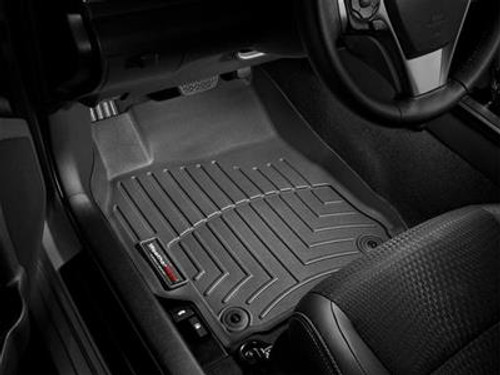 WeatherTech Digital Fit Black Floor Liners 2010-2015 Chevy Camaro 44267-1-2 Front 442671 Rear 442672 (FRONT)