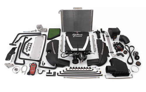 Edelbrock E-Force Camaro SS Low Profile Stage 1 Street Legal Supercharger Kits 1563