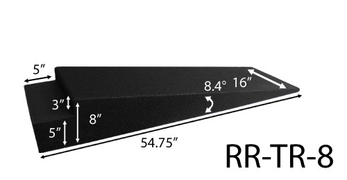 Race Ramps Trailer Ramps 8 Inch High RR-TR-8