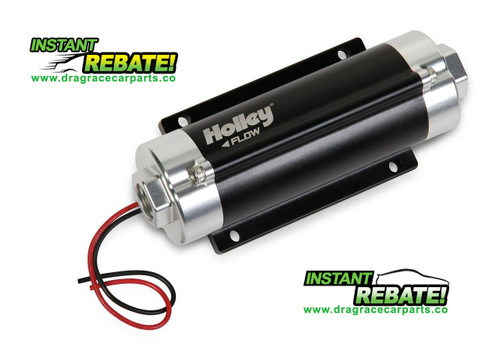 Holley HP Billet Electric Fuel Pump 65 gph 80 psi 12-600 with FREE SHIPPING and INSTANT REBATE SAVINGS