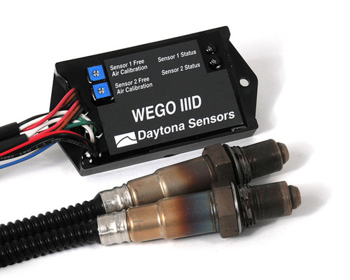 Daytona Sensors WEGO III Dual Wide-Band Air / Fuel Ratio Meter Interface Kit 111004 with FREE SHIPPING from Drag Race Car Parts