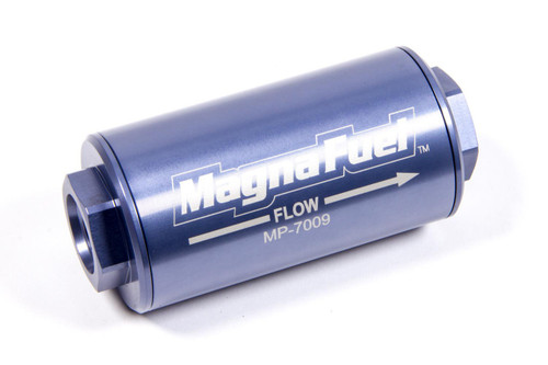 Fuel Filter, Gasoline, Alcohol, Aluminum, -10 AN Inlet/Outlet, MP-7009