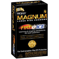 Trojan Magnum Fire and Ice Condoms