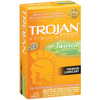 Trojan Twisted Pleasure Condoms