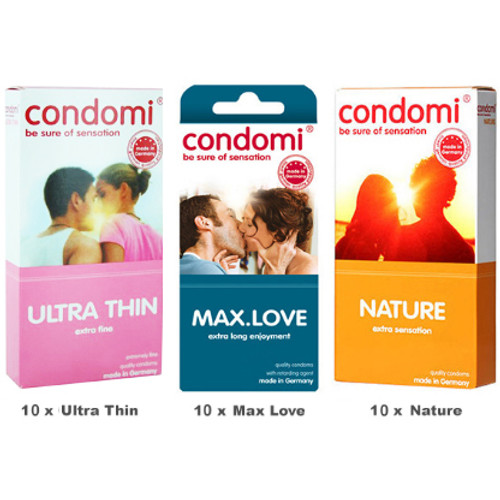 Condomi Value Pack
