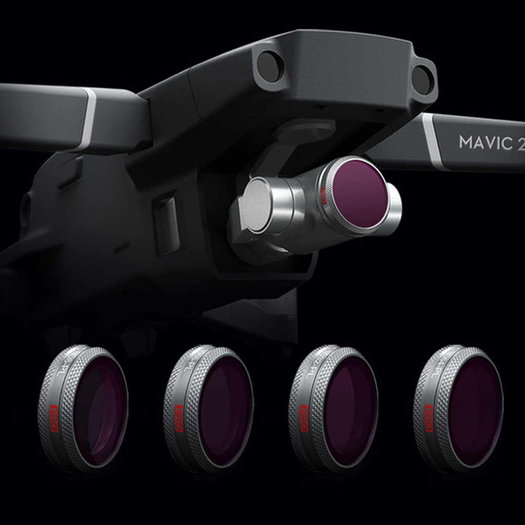 Filter For Mavic 2 Zoom - ND Set (Professional) (ND8 ND16 ND32 ND64)