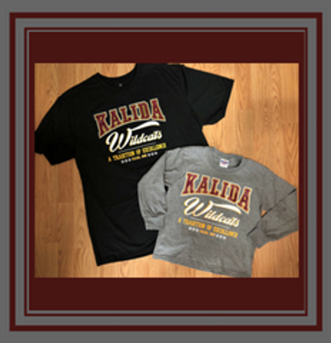 Kalida tee shirts- new design