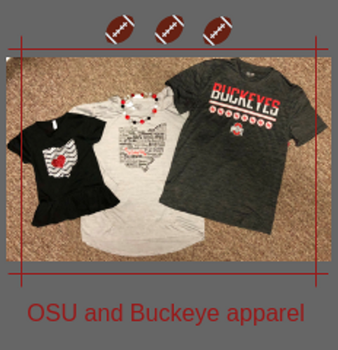 Check out our Ohio State and Buckeyes apparel and gifts!