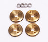 FP2129 1/10 12mm 3-Hole Brass Pistons 3 x 1.3mm (Set of 4)