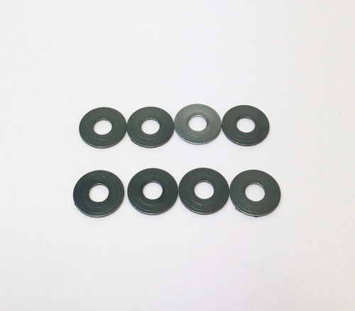 H0181C-G 3mm Alum Spacer 2.0mm Thick Gray (8pcs)