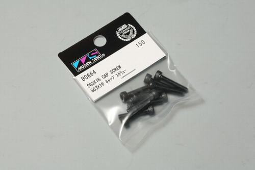 B0664 SG 3x16 Cap Screw (10pcs)