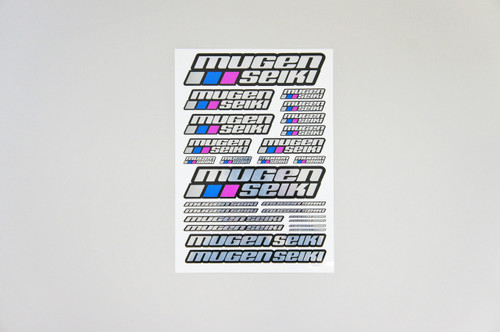P0403 Mugen Seiki Chrome Decal Sheet Large