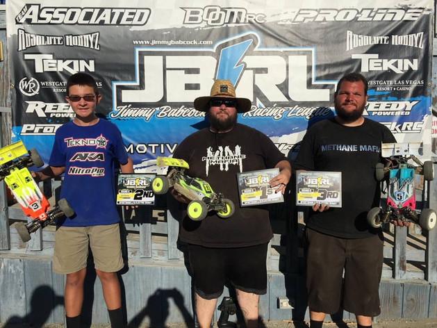 Mugen Seiki Racing would like to congratulate Jeff Johnston for winning JBRL at Revelation Raceway! #MBX8