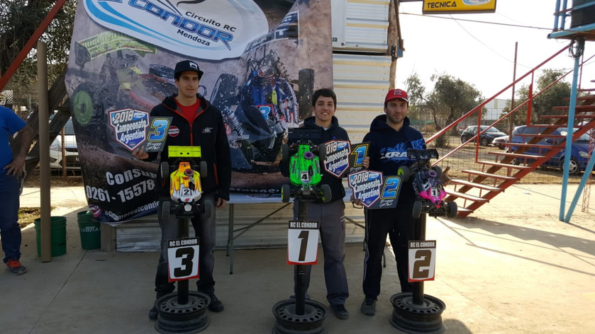 Mugen Dominates Argentina Off road Nats