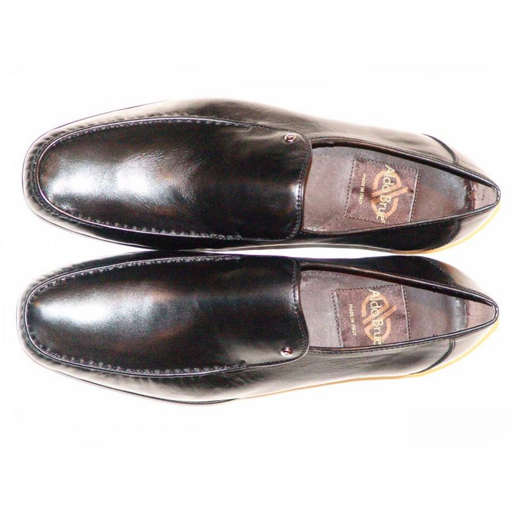 Aldo Brue 6700 Soft Leather Dress Loafer Black