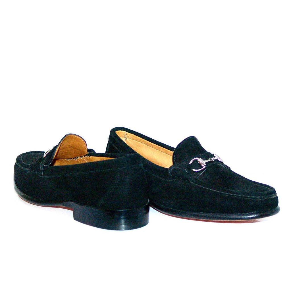 Alden Cape Cod Horse Bit Loafer H468 Black