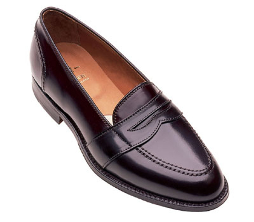 Alden Full Strap Shell Cordovan 684 Dark Burgundy