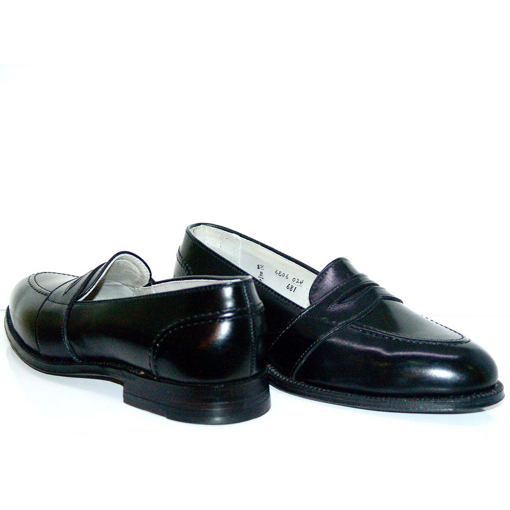 Alden Full Strap Slip On 681 Black