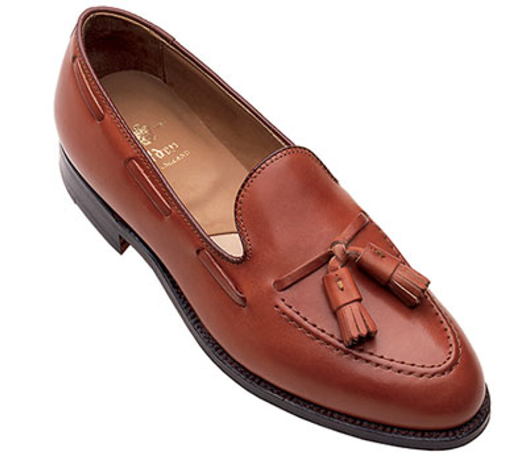 Alden Tassel Moccasin Loafer 662 Burnished Tan