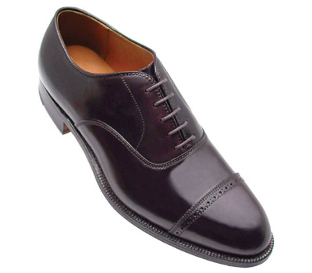 Alden Shell Cordovan Perf Tip Bal Oxford 9016 Black