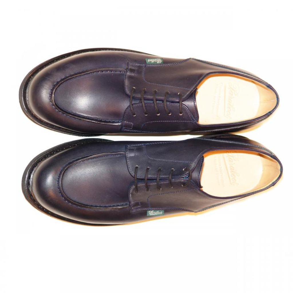 Paraboot Chambord (710710) Leather Lace Up Navy