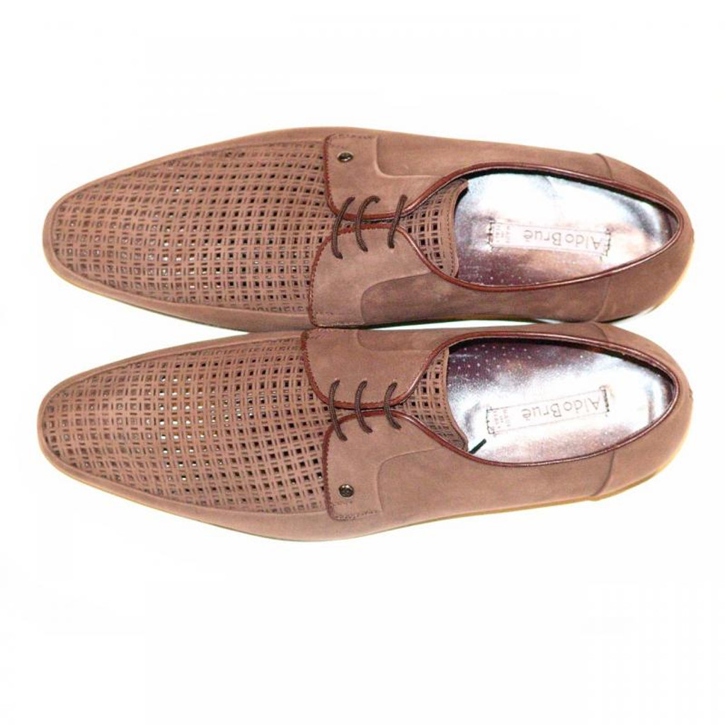 Aldo Brue 77 Perforated Laceup Brown