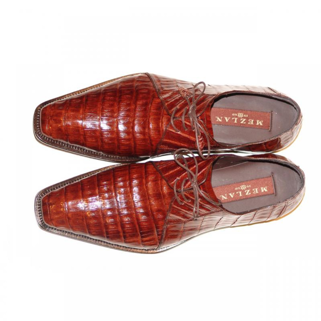 Mezlan, Sempre, Sport Crocodile Lace Up